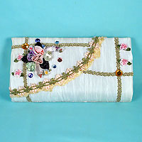 Batiste Embellished Evening Bag