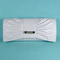 Faux Crock Evening Bag