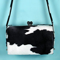 Cow Print Evening Purse