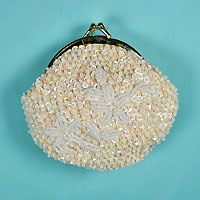 Sequined Coin Purse for Clutch Bag or Purse