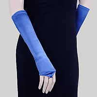 Fingerless Below the Elbow Cocktail Gloves