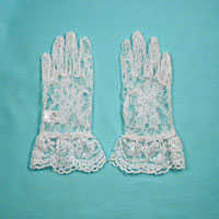 Lace Gloves Sized For Children