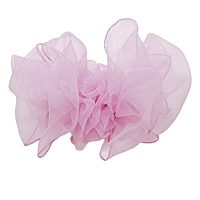 Organza Hair Bow on a French Clip