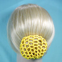 Hairnet Crocheted Hair Bun Cover Snood