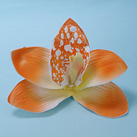 Large Orchid Flower Hair Clip