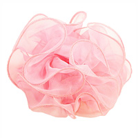 Large Sheer Chiffon Hair Bow