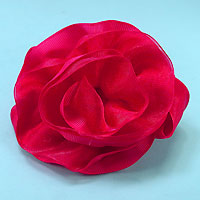 Grosgrain Flower Hair Bow