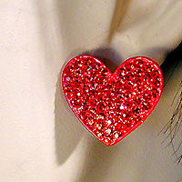 Stud Heart Earrings