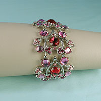 Crystal Rhinestone Stretch Bracelet
