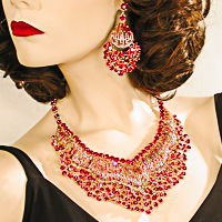 Large Opulent Statement Necklaces
