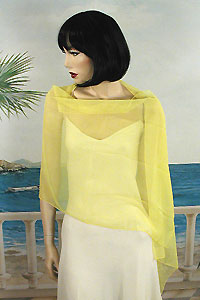 Chiffon Shawl Wrap Scarf for Special Events Weddings Proms