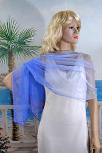 Pure Silk Scarf or Light Shawl Wrap